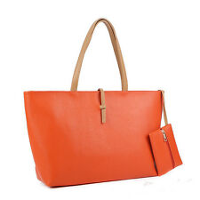 European Fashion Women's PU Shoulder Bag Ladies Tote Bag Handbag purse