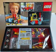 Lego 8843 Technic 80 er Fork Lift Truck Gabelstapler komplett mit OVP und OBA