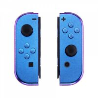 Chameleon Purple Blue Housing Shell Case w/ Buttons for Nintendo Switch Joy-Con