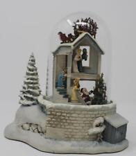 Goebel Olszewski Storybook Lane The Night Before Christmas/Up on Housetop 8 pc