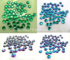 STRASS TERMOADESIVI 100pz SS16 4mm verde blu  viola rosa colore speciale hotfix