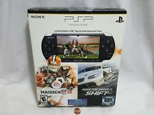 Sony PSP 3000 Limited Edition Sports Entertainment Pack Piano Black Handheld System