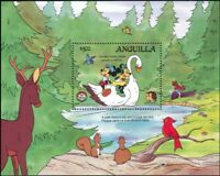 Anguilla 1985 Disney/Christmas/Grimm Bros./Cartoons/Books/Stories 1v m/s  ad1066