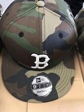New Era MLB Boston Red Sox Camo Snapback 9Fifty Hat