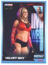 "VELVET SKY ""GOLD PARALLEL CARD #15 /5"" TNA SIGNATURE IMPACT"