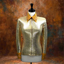 MEDIUM  Western Showmanship Horsemanship Pleasure Show Jacket Shirt Rodeo Queen