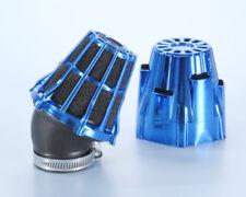 Polini Filtro Aria a Cono 203.0162 Air Box D. 46 Inclinato a 30° Blu Universale