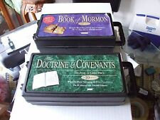 BOOK OF MORMON & DOCTRINE AND COVENANTS 17 CASSETTES TOTAL !