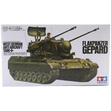 Tamiya Flakpanzer Gepard Tank Model Set (Scale 1:35) 35099 NEW