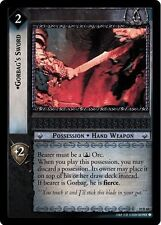 LOTR TCG Mount Doom Gorbag's Sword 10R60