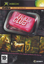 FIGHT CLUB for Xbox - with box & manual - PAL