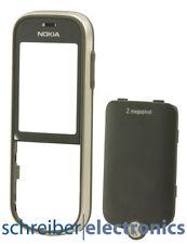 Original Nokia 3720 Classic Cover grau mit Akkudeckel Gehäuse 3720c grey NEU