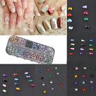 3600pcs Newly DIY 3D Nail Art Rhinestones Decoration For UV Gel Acrylic Systems