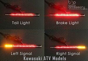 33-SMD LED Bar Brake Tail Light & Left/Right Turn Signal Lamp for Kawasaki ATV