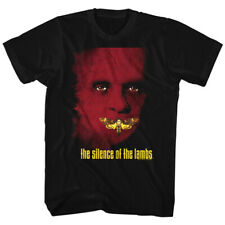 Silence Of The Lambs Horror Film Hannibal Lecter Moth Adult T-Shirt Tee