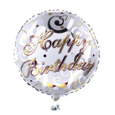 18-inch Round Music Pattern Balloons Birthday Party Decor Bar Xmas Gift HU