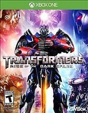 Transformers: Rise of the Dark Spark (Microsoft Xbox One, 2014) NEW Factory Seal