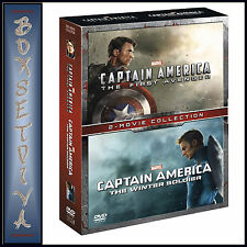 CAPTAIN AMERICA & CAPTAIN AMERICA THE WINTER SOLDIER  **BRAND NEW DVD BOXSET**