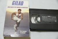 Gilad New Best of Bodies in Motion VHS tape 1992 70 minute workout Hawaii EX+