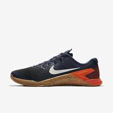 Men's Nike Metcon 4 Sz 10.5 Thunder Blue/White-Black AH7453 401 Training Shoes