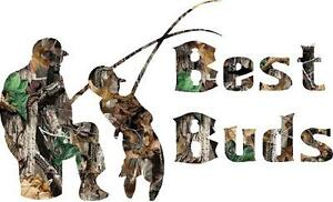 Best Buds  sticker (available in several vinyl colors) or Camo , leave a message