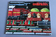 X243 MARKLIN Train catalogue Ho 1982 1983 170 pages 26,5*22 cm F