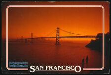 San Francisco Oakland Bay Bridge Los Angeles USA mit Marken 1988