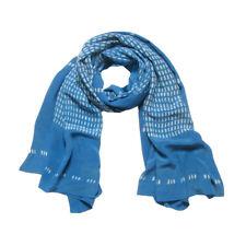 A Peace Treaty 100% silk indigo batik scarf NWT sold out $205 retail