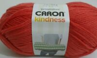 Caron Yarnspirations Kindness Yarn    7 Ounce Skein    Tomato