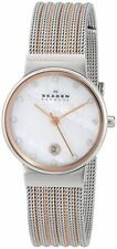 Skagen Women's 355SSRS 'Ancher' Crystal Two-Tone Stainless steel Watch