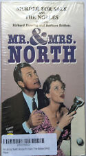 VHS Movie Murder Mistery Mr & Mrs North Murder for Sale 2 Box Set Video Sealed