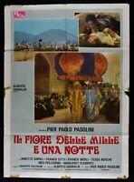 Werbeplakat Blume Der Tausend E Ein Nacht Pier Paul Pasolini Ninetto Davoli M323