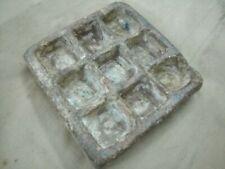 Original Old Primitive Handmade Rare 9 In 1 Single  Stone Bowls Rich Patina
