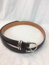 James Reid ltd. sterling 925  14k Callaway Golf buckle 3 pcs leather belt No.2