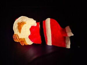 Santa Lying Down - Blow Mould Outdoor Christmas Light