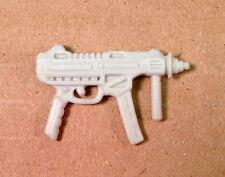 Topside v1~ White Machine Gun~  Gi Joe Parts~ Vintage 1990  Hasbro~