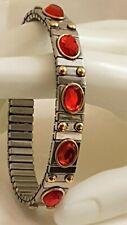 Ruby Christmas Bracelet Silver Birthday Jewelry Adjustable bracelet Gold 24k Hmd