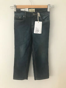 COUNTRY ROAD SIZE 3 BLUE DENIM JEANS  NEW WITH TAG RP $59.95