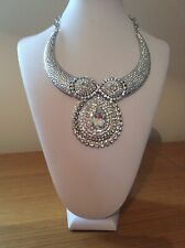 Necklace - new Large Clear Crystal