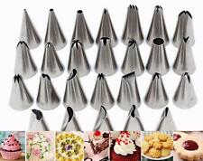 26 Pieces ICING PIPING NOZZLE Set Tool Box - Cupcake Cake Sugarcraft Decoration