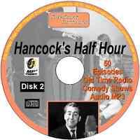 Hancock's Half Hour 50 Old Time Radio Episodes Audio MP3 CD OTR disk 2