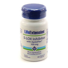 Life Extension 5-Lox Inhibitor with Apresflex 100 mg - 60 Vegetarian Capsules