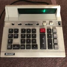 Sharp Compet Cs-1115 - Vintage Desk Calculator Retro