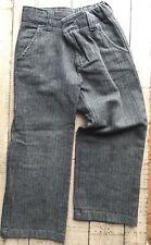Boys Gymboree 4 Pants Trousers Cotton Gray Adjustable Waist