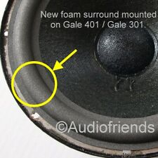 Gale 401 / 401a / GS401a > Repairkit 6x special manufactured foam surrounds