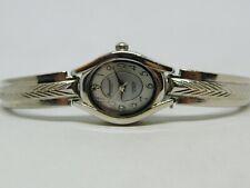 "Precision by Gruen Diamond Silver Tone Quartz Analog Ladies Watch Sz. 6 1/2"""