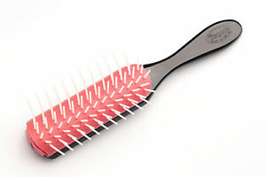 Denman D41 Hair Brush Cushion 9 Row Professional Volumizing Smoothing Styling