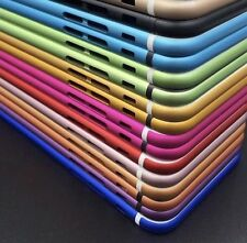 Colorful Hard Metal Back Battery Housing Cover Case Replacement 4 iPhone 6s, 6s+