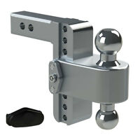 "Weigh Safe LTB6-2 Adjustable 6"" 180 Hitch Ball Mount 2"" Shaft 10,000 lbs."