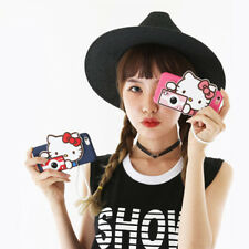 Hello Kitty iPhone 8 Plus Case Camera Silicone Fitted Cover Made Korea #Pink